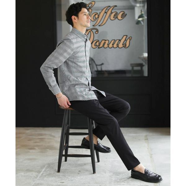カジュアルシャツ  メンズ カーディガン シャツ メンズ オックスフォード ボタンダウン|spu|11