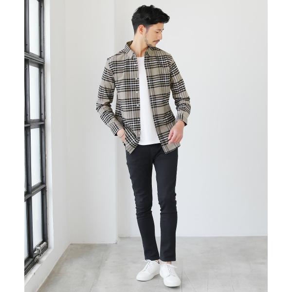 カジュアルシャツ  メンズ カーディガン シャツ メンズ オックスフォード ボタンダウン|spu|12