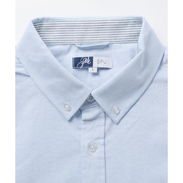 カジュアルシャツ  メンズ カーディガン シャツ メンズ オックスフォード ボタンダウン|spu|15