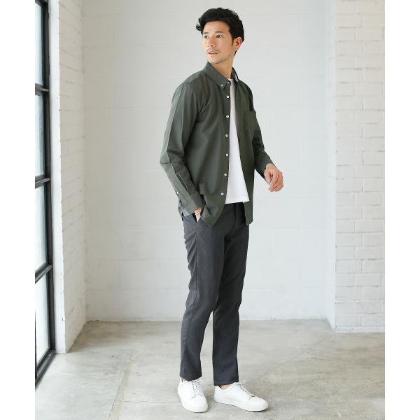カジュアルシャツ  メンズ カーディガン シャツ メンズ オックスフォード ボタンダウン|spu|05