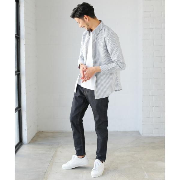 カジュアルシャツ  メンズ カーディガン シャツ メンズ オックスフォード ボタンダウン|spu|09