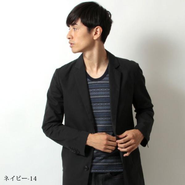 フォークロア デザイン 6分袖 カットソー|spu|05