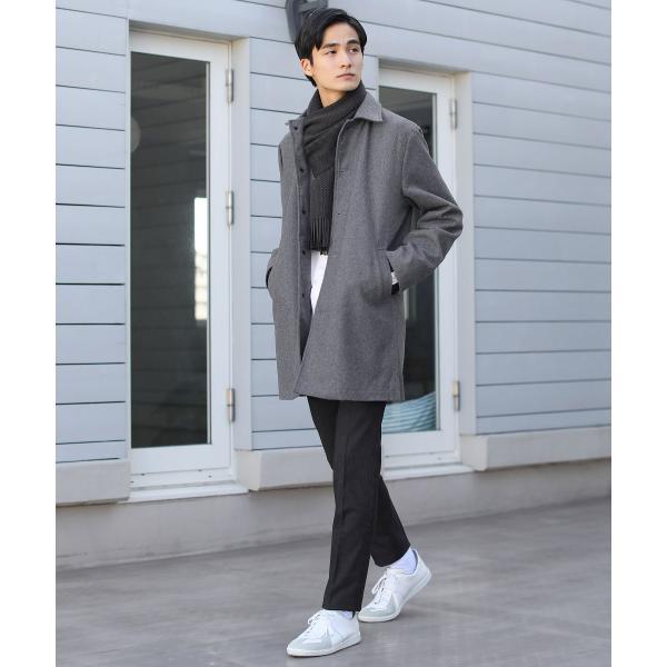日本製 マフラー メンズ アクリル ニット ラッセル ストライプ プレゼント 彼氏 レディース ユニセックス ペア|spu|06