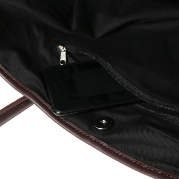 トートバッグ メンズ ユニセックス A4サイズ 通勤 通学 PUレザー|spu|20