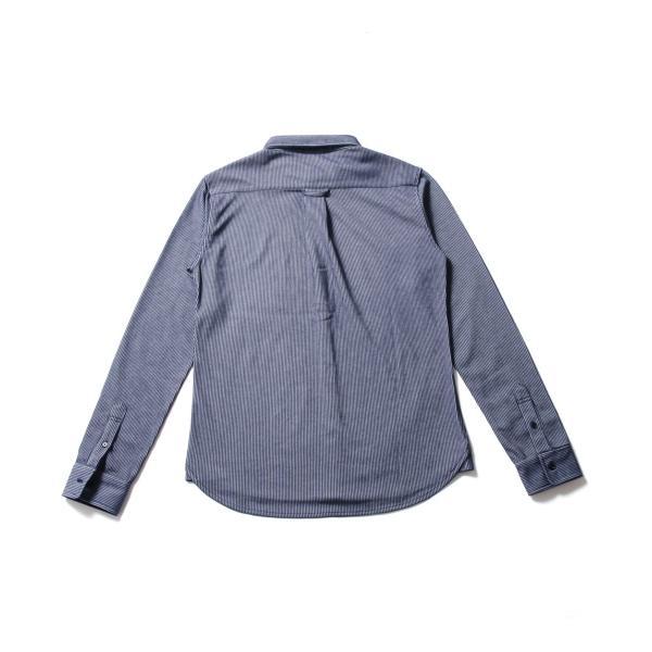 ストライプ シャツ メンズ 長袖 ストレッチ スマートフィット カジュアルシャツ|spu|12