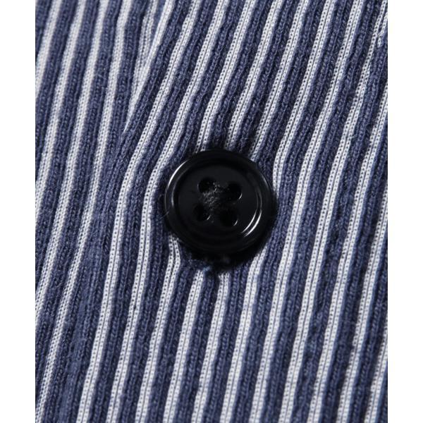 ストライプ シャツ メンズ 長袖 ストレッチ スマートフィット カジュアルシャツ|spu|14