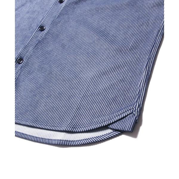 ストライプ シャツ メンズ 長袖 ストレッチ スマートフィット カジュアルシャツ|spu|16