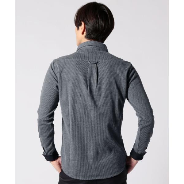 ストライプ シャツ メンズ 長袖 ストレッチ スマートフィット カジュアルシャツ|spu|10