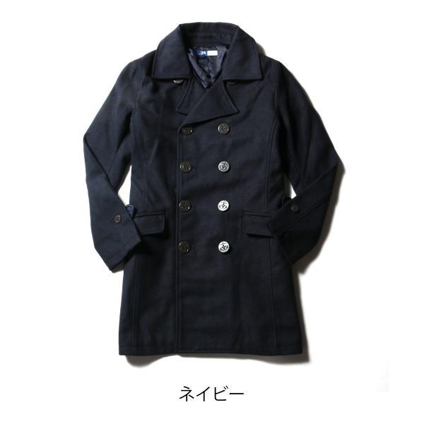 メンズ コート メンズファッション ウール メルトン ロング Pコート SPU スプ|spu|06