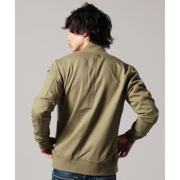 MA-1 ジャケット メンズ TR素材 ストレッチ スリムジャケット SPU スプ|spu|13