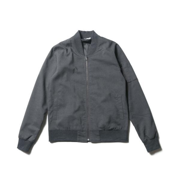 MA-1 ジャケット メンズ TR素材 ストレッチ スリムジャケット SPU スプ|spu|14