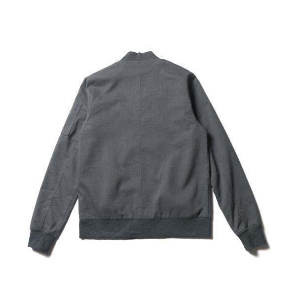 MA-1 ジャケット メンズ TR素材 ストレッチ スリムジャケット SPU スプ|spu|15