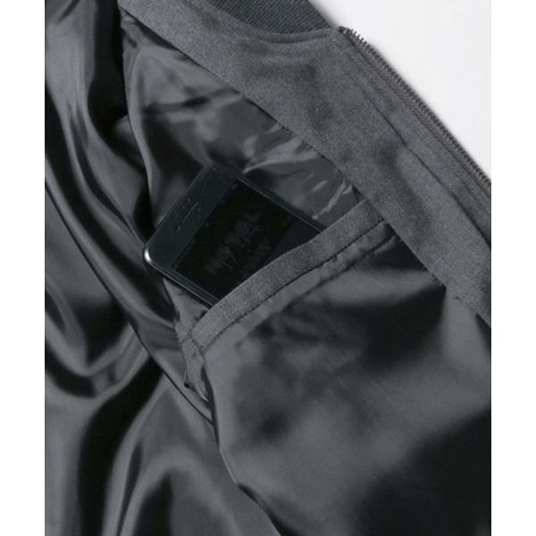 MA-1 ジャケット メンズ TR素材 ストレッチ スリムジャケット SPU スプ|spu|17