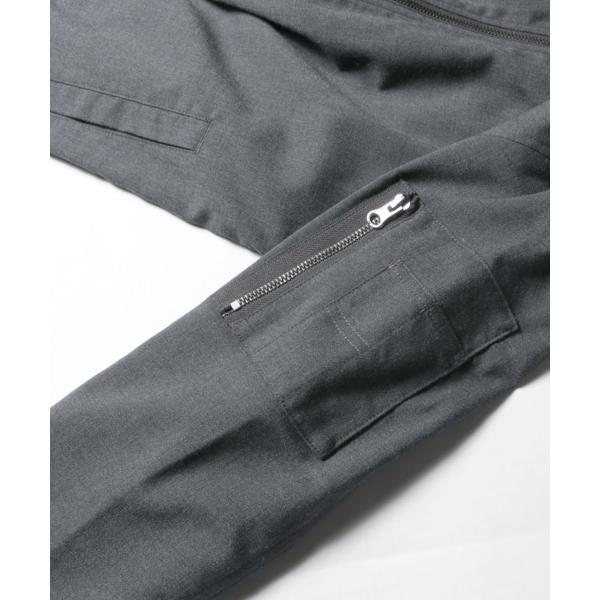 MA-1 ジャケット メンズ TR素材 ストレッチ スリムジャケット SPU スプ|spu|18