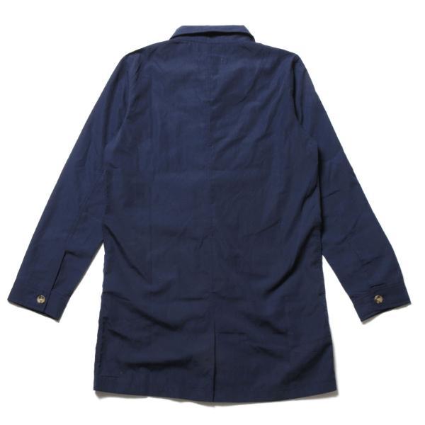 メンズ 春 秋 メンズファッション タイプライター スリム ショップ コート ライト アウター ロング シャツ SPU スプ|spu|18