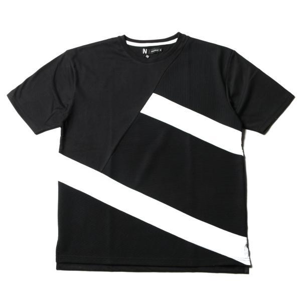 メンズ Tシャツ メンズファッション TC ポンチ ブロック切替 半袖 Tシャツ Buyer's Select バイヤーズセレクト spu 08