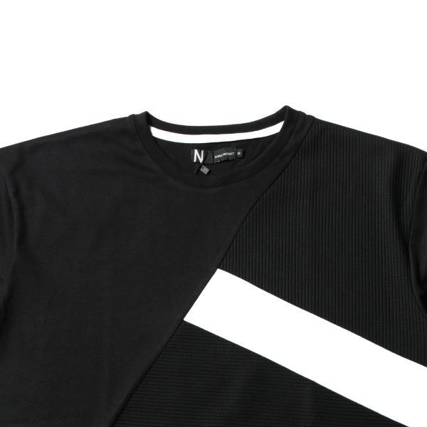 メンズ Tシャツ メンズファッション TC ポンチ ブロック切替 半袖 Tシャツ Buyer's Select バイヤーズセレクト spu 10