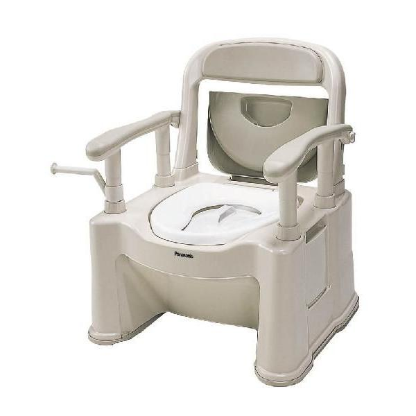 ポータブルトイレ背もたれ型SP小口径便座タイプ