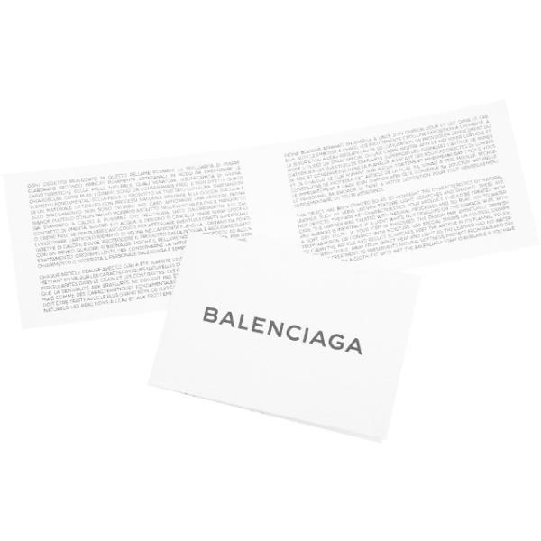 930dc33e997d ... バレンシアガ 財布 BALENCIAGA 二つ折り財布 メンズ レディース ブラック 466877 D94IG 1000 ブランケット レザー  コンパクト/ ...