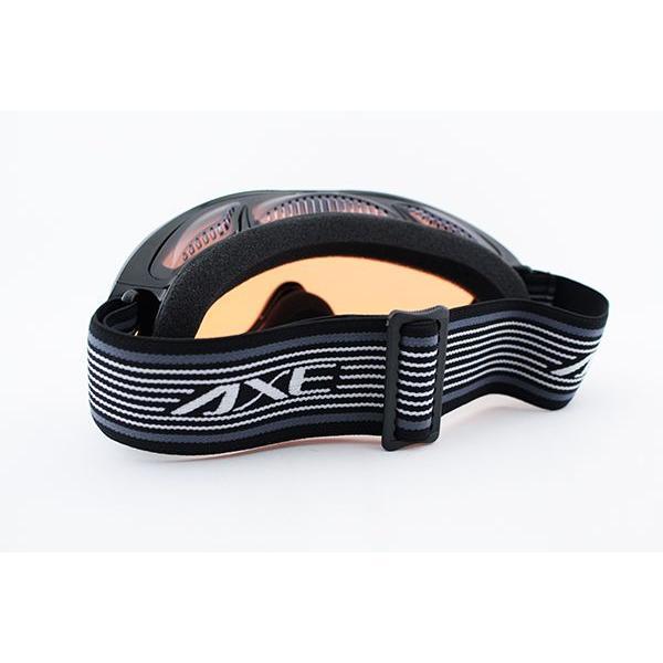 アックス ゴーグル AX460-ST-BK 新作 メガネ対応 黒 スキー スノボ ベンチレーター 日本製|squacy|03