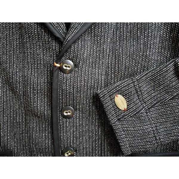 BARNS バーンズ テーラード ジャケット メンズ ビーチクロス  BR-5453 人気 ごましお 売れ筋 ワークジャケット ワーカー メンズ|squeezecoconuts|02