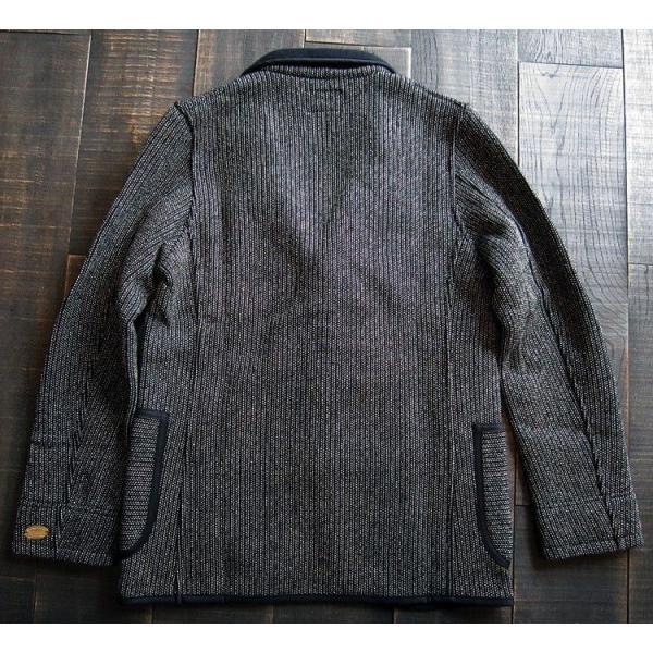 BARNS バーンズ テーラード ジャケット メンズ ビーチクロス  BR-5453 人気 ごましお 売れ筋 ワークジャケット ワーカー メンズ|squeezecoconuts|03