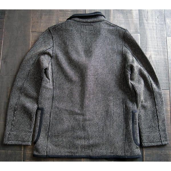 BARNS バーンズ テーラード ジャケット メンズ ビーチクロス  BR-5453 人気 ごましお 売れ筋 ワークジャケット ワーカー メンズ|squeezecoconuts|04