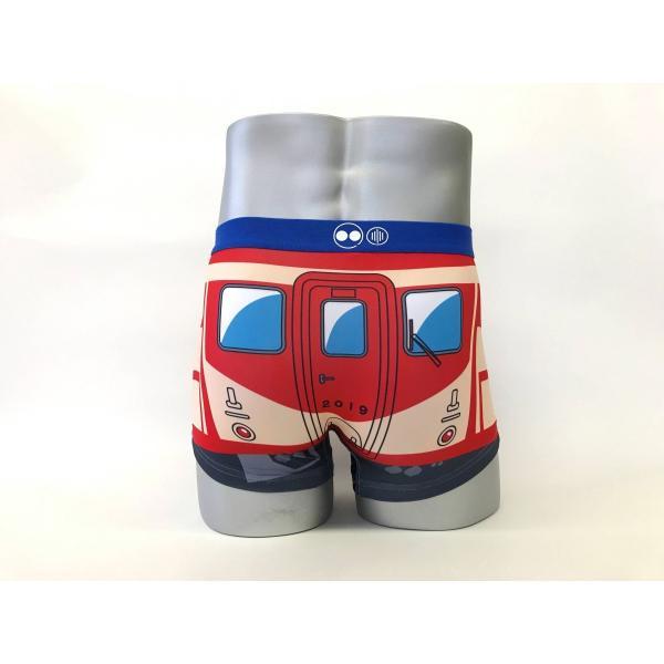 島鉄(しまてつ) 赤パンツ車両ボクサーパンツ 「赤パン2」 ★島原鉄道グッズ★ srshop 03