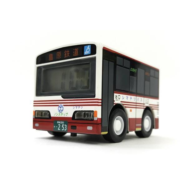 島鉄(しまてつ)バス型 目覚まし時計「乗合タイプ」 ★島原鉄道グッズ★ srshop 02