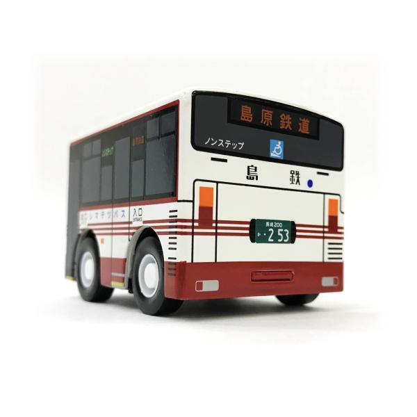 島鉄(しまてつ)バス型 目覚まし時計「乗合タイプ」 ★島原鉄道グッズ★ srshop 03