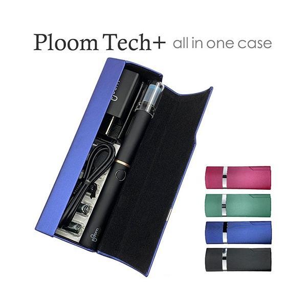 プルームテック プラス ケース PloomTech+Plus カバー スリム シンプル 無地 コンパクト キャリングケース