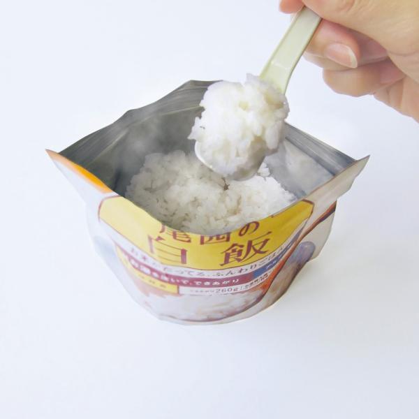 水が有れば簡単調理!5年保存 尾西食品アルファ米 白飯 ×5袋セット 備蓄用・アウトドア・レジャーに最適品|ss-miyabi-store|03