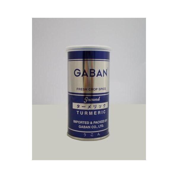GABAN(ギャバン) 業務用 ターメリック うこん 80g 缶 パウダー