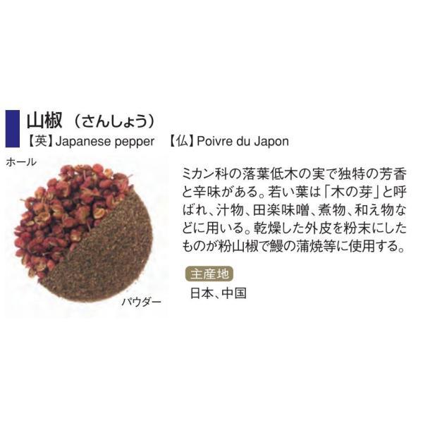 GABAN(ギャバン) 山椒 1kg パウダー 業務用 袋