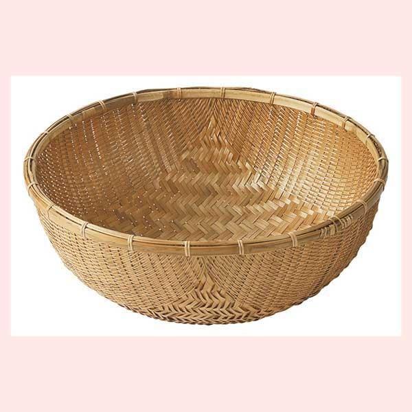 『竹』丸タイプバスケット「58×23cm」|sshana