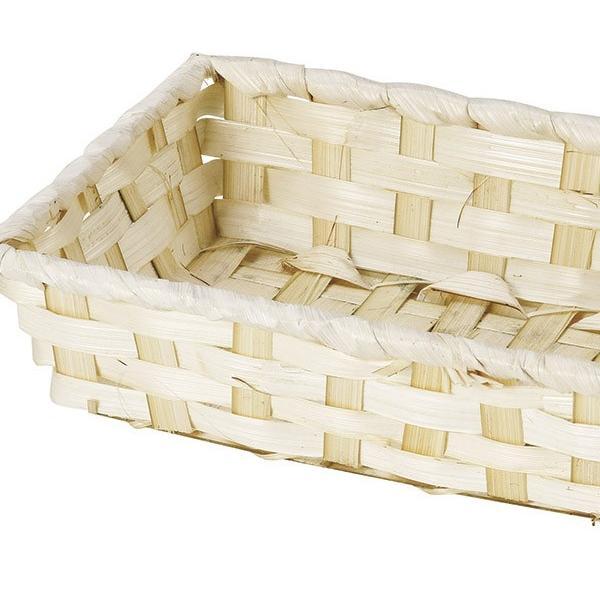 『竹』四角タイプトレー「24×14×5cm」10Pセット/ナチュラル|sshana|02