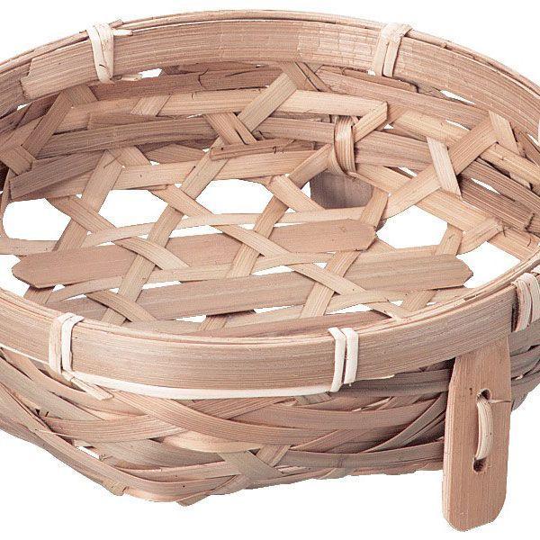 『竹』丸タイプ足付き小物入れ「14×5cm」3Pセット/2種類 sshana 02