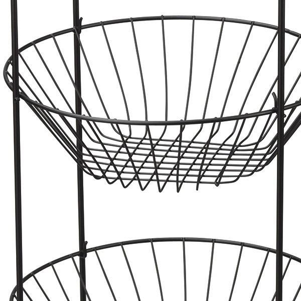 『ワイヤー』3段ディスプレイスタンド「32×32×80cm」/2種類|sshana|03