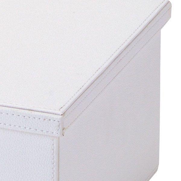 『合皮』蓋付き収納ケース(カラフル)「39×28×17cm」/7種類 sshana 03