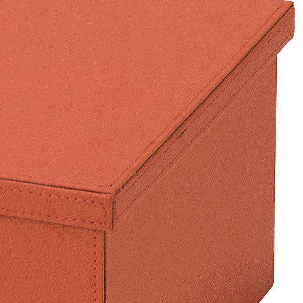 『合皮』蓋付き収納ケース(カラフル)「39×28×17cm」/7種類 sshana 05