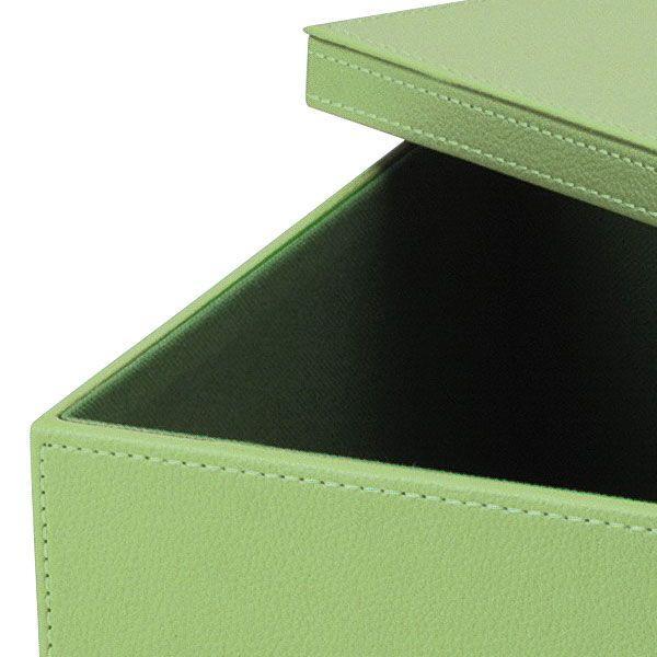 『合皮』蓋付き収納ケース(カラフル)「39×28×17cm」/7種類 sshana 06