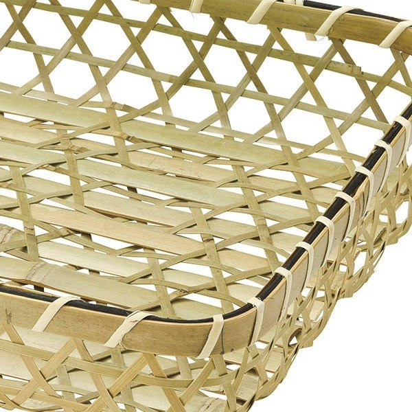 『竹』四角タイプトレー「30×27.5×6.5cm」|sshana|02