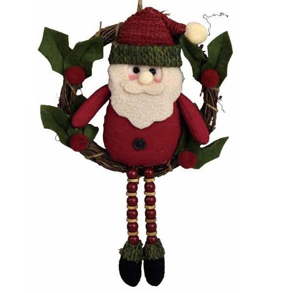 『クリスマス』足ぶらドールのリース/2種類 sshana 04