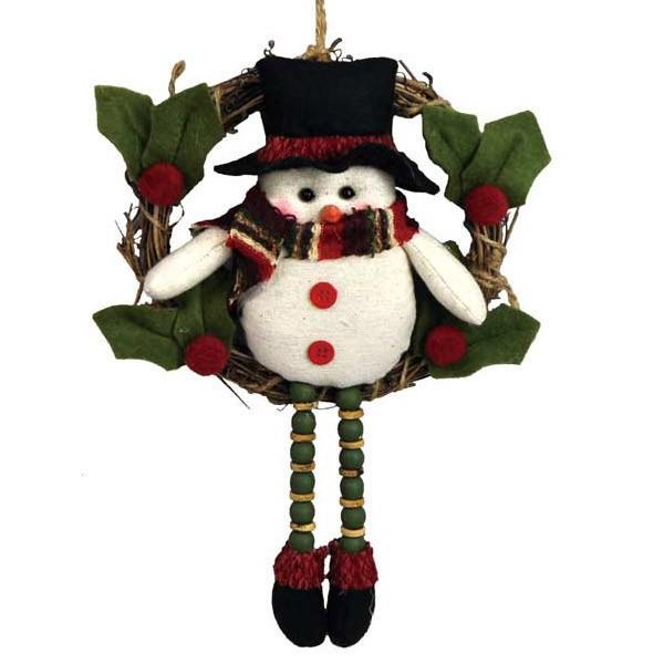 『クリスマス』足ぶらドールのリース/2種類 sshana 05