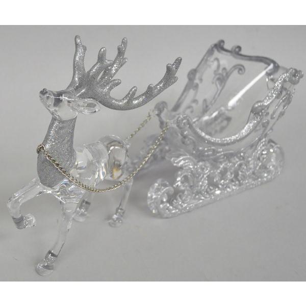 『クリスマス』アクリル製ディアスレーのオブジェ/2種類 sshana 03