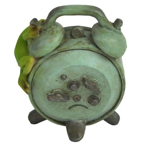 レジン製カエルのミニオブジェ(置時計)|sshana|03