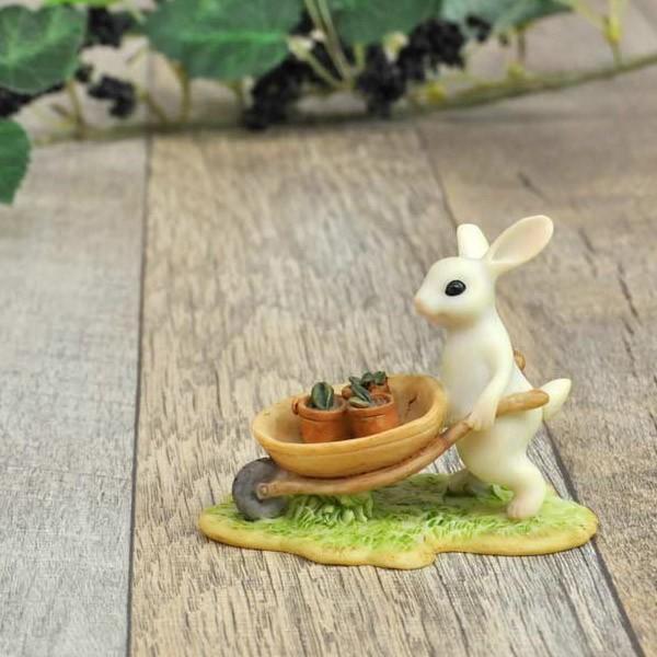 レジン製ウサギのミニオブジェ(ガーデン)|sshana|03