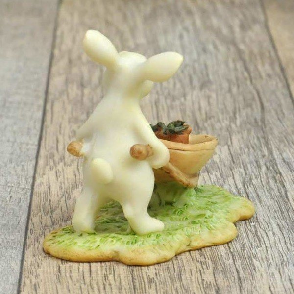 レジン製ウサギのミニオブジェ(ガーデン)|sshana|04