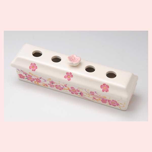 桜 香炉ケース(マット2枚付) S19-343