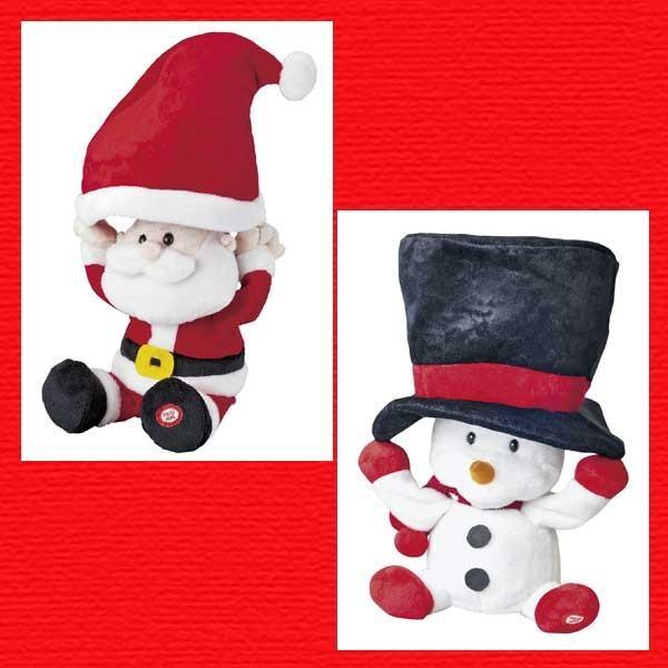 『クリスマス』ピーカーブーのおもちゃ/2種類|sshana